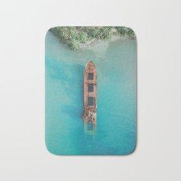 Roatan Island Shipwreck Bath Mat