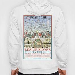 Leslie Knope for City Council - Parks and Recreation Dept. Hoody