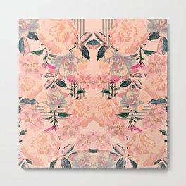 Symmetrical Bloom Metal Print