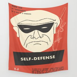 Self-Defense Wall Tapestry
