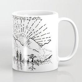 Sketch 37 - Mountain View Coffee Mug