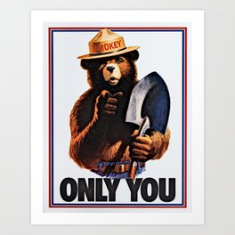 Only You (Poster) Art Print