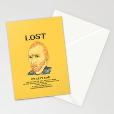 Where did it Gogh? Stationery Cards