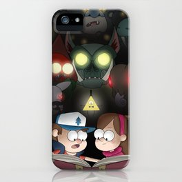 Gravity Falls - Monster Manual iPhone Case