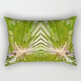 475 - Abstract garden design Rectangular Pillow