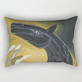 Looking high Rectangular Pillow