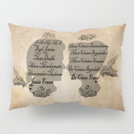All the names of the Frasers Pillow Sham