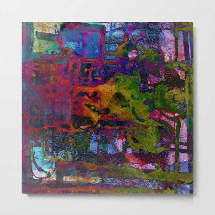 colors fusion Metal Print