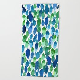 Clean Rain Beach Towel
