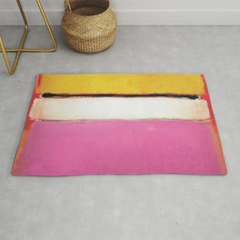1950 White Center by Mark Rothko HD Rug
