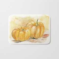 Mini Pumpkins II Bath Mat