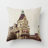 sweden Throw Pillows featuring Sweden by MillennialBrake
