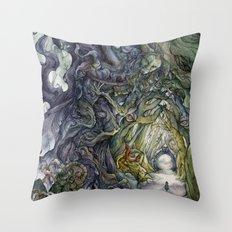 Only They Pronounce My Name Throw Pillow