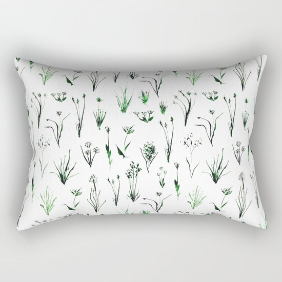 Green and fresh Rectangular Pillow