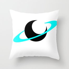 Funky Space Design Throw Pillow