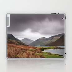Rain clouds over Scafell and Great Gable. Wastwater, Cumbria, UK. Laptop & iPad Skin