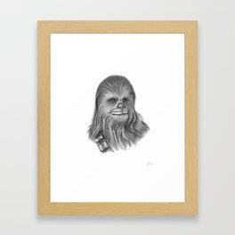 Wookiee Chewbacca Framed Art Print