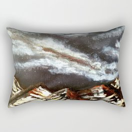 Bronze Peaks Rectangular Pillow