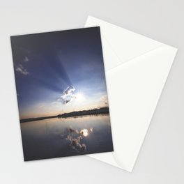 Shadow Rays Stationery Cards