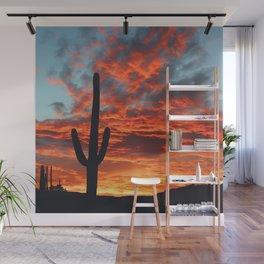 Southwestern Sunset -- Iconic Southwest Wall Mural