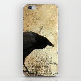 Crow Caws iPhone Skin