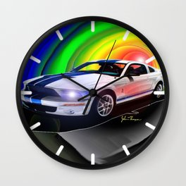 Mustang Shelby GT Wall Clock