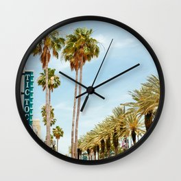 Downtown Daytona Beach Wall Clock