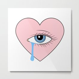 Cry Baby Metal Print