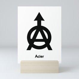 Acier Alchemy Symbol Mini Art Print
