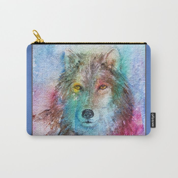 Run with the Wolves... Carry-All Pouch
