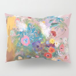 Mixed bouquet of flowers Pillow Sham
