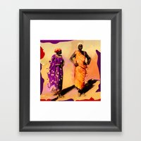 Land Of The Sahara Framed Art Print
