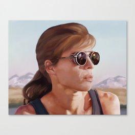 Sarah Connor Canvas Print