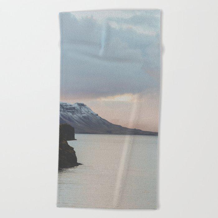 Western Region, Iceland Beach Towel