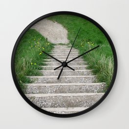 Lead The Way Wall Clock
