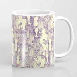 just cattle purple cream Coffee Mug
