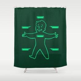 HealthyBoy 3000 Shower Curtain