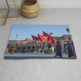 Pride of Jemaa el-Fna (Marrakech) Rug