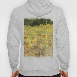 Field of Sunflowers Hoody