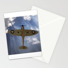 Aces High - Spitfire Vertical Climb Stationery Cards