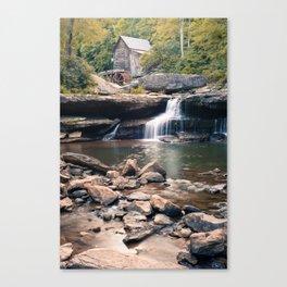 Gentle Waters of Glade Creek Mill - West Virginia Canvas Print