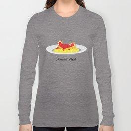 Sailor moon meatball head Long Sleeve T-shirt