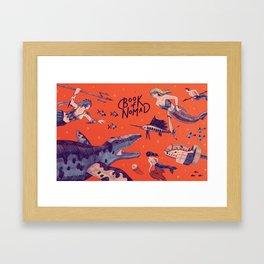 Graft - Tangle of Titans Framed Art Print