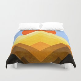 G Mountain Duvet Cover