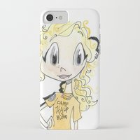 percy jackson iPhone & iPod Cases featuring Percy Jackson and Annabeth Chase by Trillatia