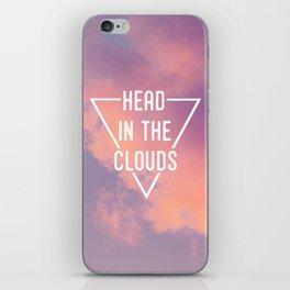 Head in the Clouds iPhone Skin