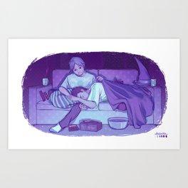 Dreams full of magic Art Print