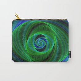 Green blue infinity Carry-All Pouch