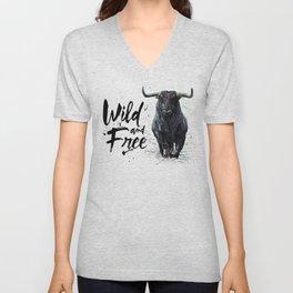 Buffalo wild & free Unisex V-Neck