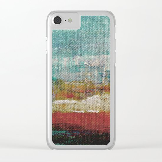 Lake Nyos Clear iPhone Case